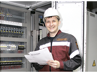 Ruslan Kaygorodov, Process Automation Engineer, Instrumentation and Automation Shop